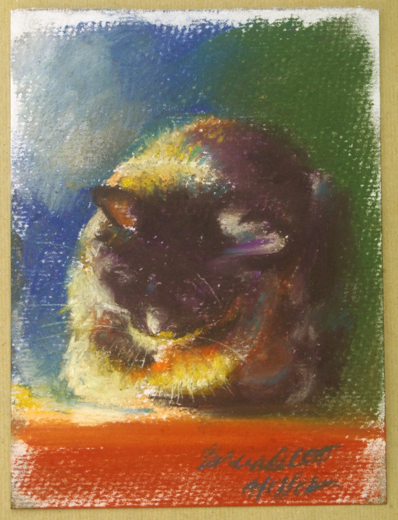 print of pastel sketch