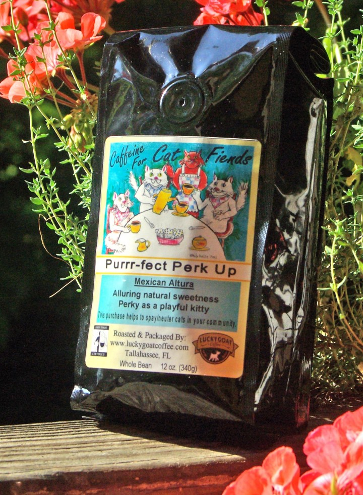 photo of bag of coffee