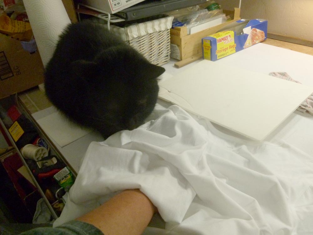 black cat watches printing