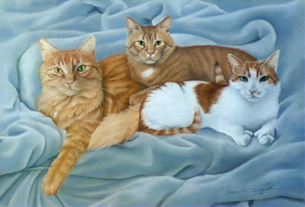 Marketplace: New Feline Artwork