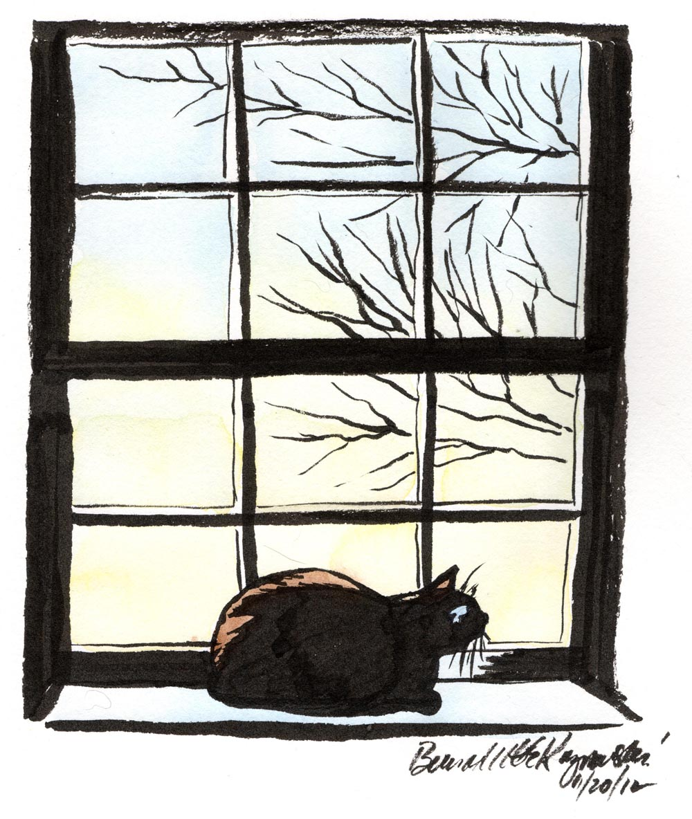 Daily Sketch Reprise First Light The Creative Cat