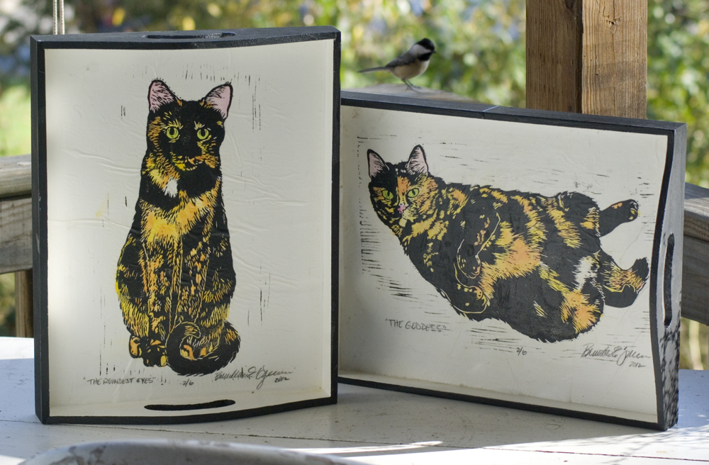 Marketplace: Add a Little Tortitude to Your Kitchen With Tortie Girls Trays