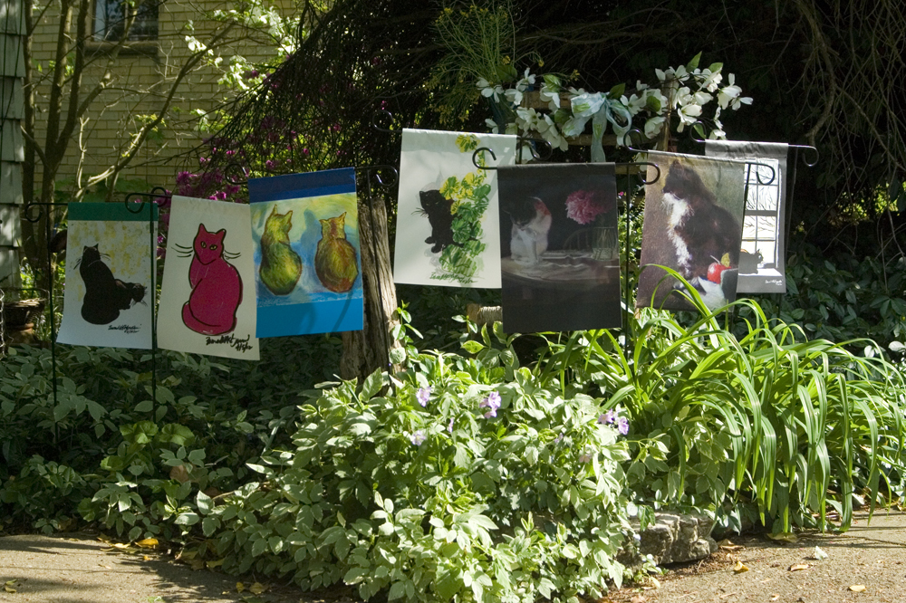 Garden Flag Giveaway The Creative Cat