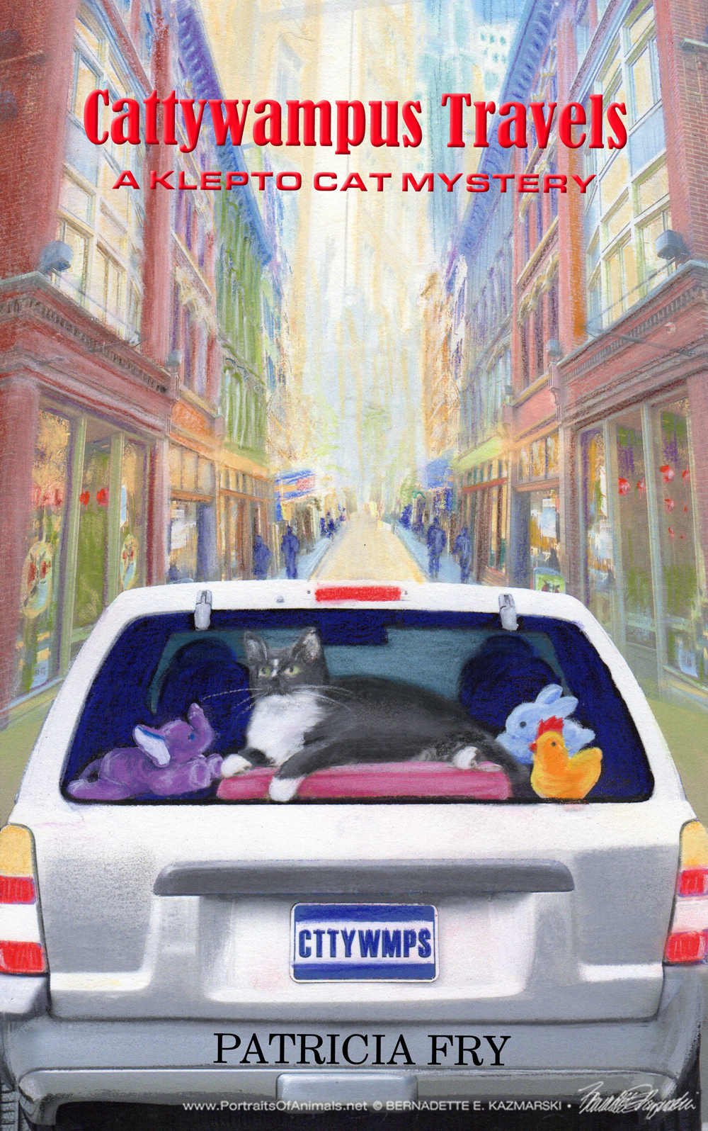 """The final cover, """"Cattywampus Travels""""."""