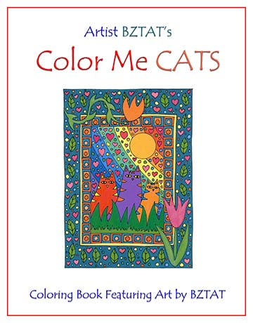 Color Me Cats Cover art.
