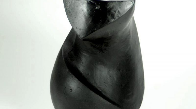 The Black Cat Sculpture