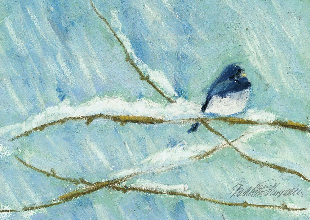 Snow Bird © 2010 B.E. Kazmarski