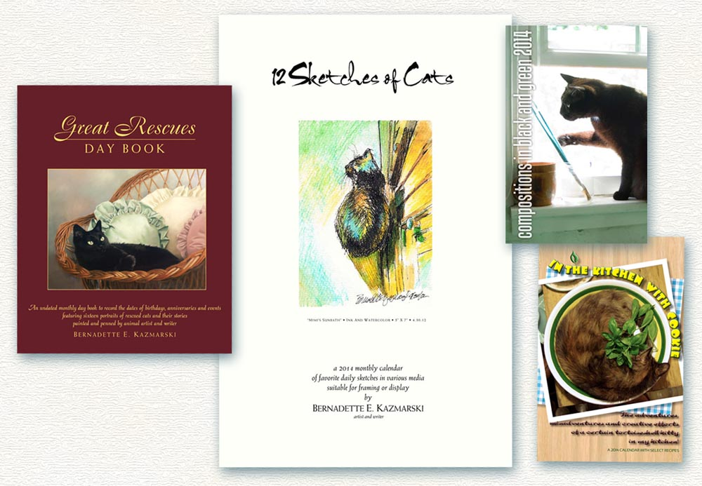 2014 calendars from the creative cat