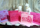 Marketplace: Hand-printed Valentine Cards (Purr-sonally Inspected By Discerning Black Cats)