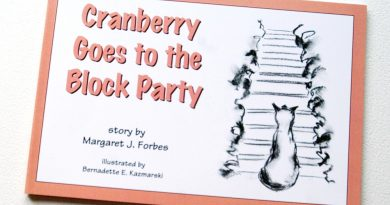 "Featured Artwork: ""Cranberry Goes to the Block Party"", Illustrations, Design and Printing"