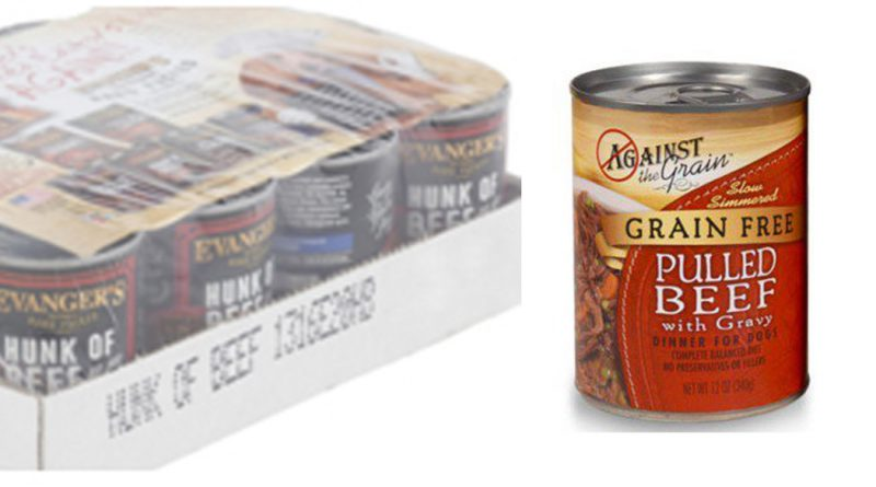 FDA Warns, Evanger's, Against the Grain Canned Pet Foods, Adulteration with Pentobarbital