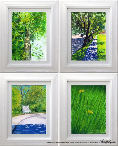 Four Spring Paintings