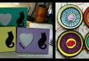 Marketplace: Handpainted Trinket Dishes and Picture Frames