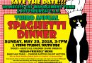 Enjoy a Spaghetti Dinner and Help Homeless Cats in Pittsburgh