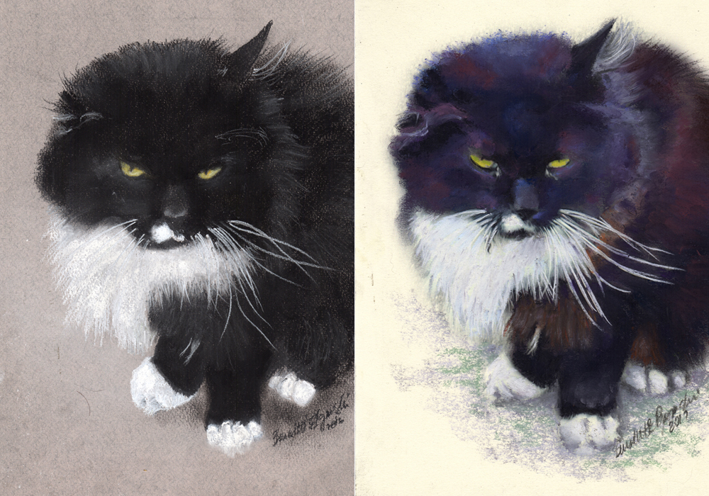 Both of Henry's portraits.