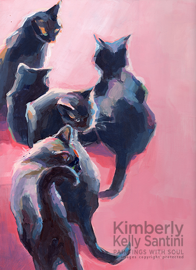 "A Very Special Daily Painting: ""Forty Five Lives"" by Kimberly Kelly Santini"