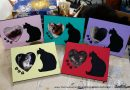"Hot Off the Worktable: ""Kitty Love"" Picture Frames"