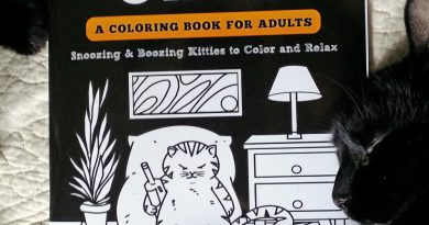 """Book Review: """"Lazy-Ass Cats, A Coloring Book for Adults"""""""