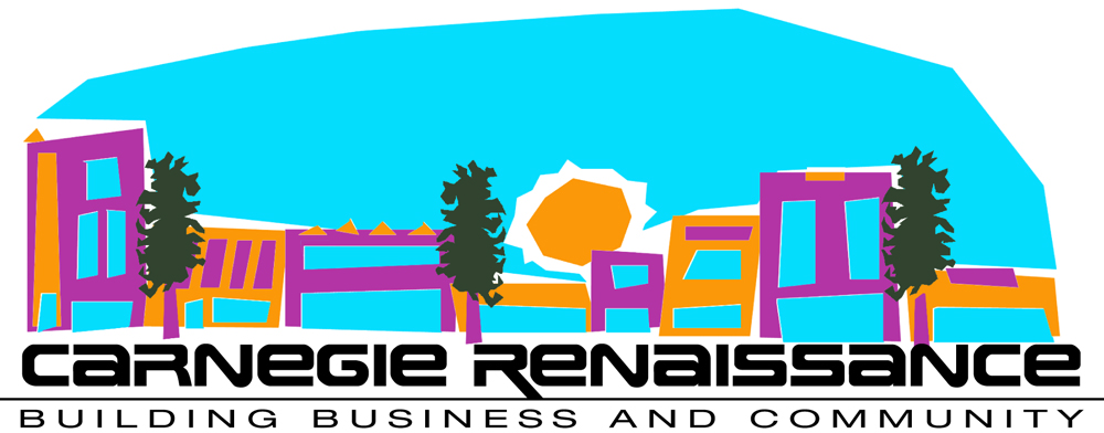 Main Street logo for Carnegie Renaissance (a group I helped found and directed for five years).