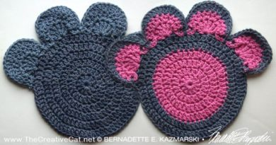 Marketplace: And Something Completely Different, Reprise—Crocheted Pawprints