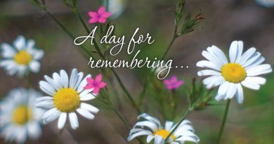 """A Day For Remembering"", Pet Memorial Sunday Event and Speaking"