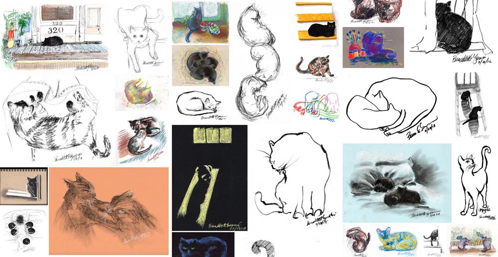 Daily sketches gallery.