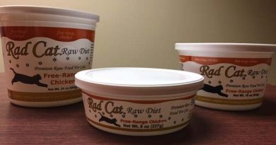One Lot of Rad Cat Raw Diet Free-Range Chicken and Free-Range Turkey Recipe Voluntarily Recalled