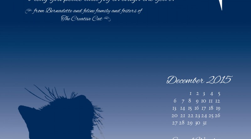 """Star of Wonder"" desktop calendar, 1280 x 1024 for square and laptop monitors."