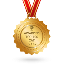 Top 100 Cat Blogger on Feedspot