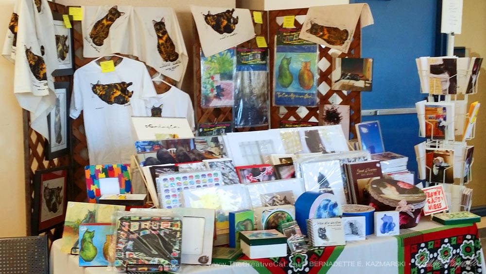 My display at the WPHS Holiday Market in December 2015.