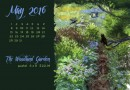 "May Featured Artwork and Desktop Calendar: ""The Woodland Garden"""